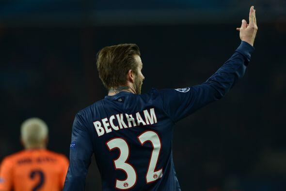 David Beckham, a sus 38 años, fue titular en un juego importante de Cham...