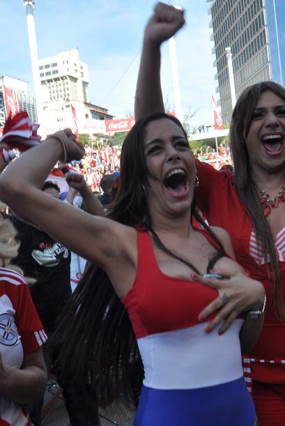 No le importó mucho la derrota de Paraguay. Su promesa la cumplió de tod...