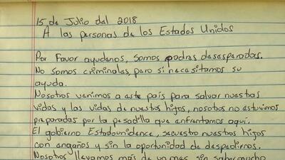 """""""Estamos muertos en vida"""": la triste carta a los estadounidenses de 54 padres migrantes separados de sus hijos"""