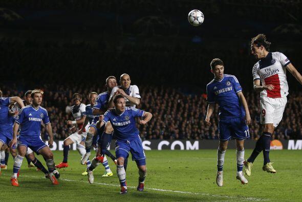 En Stamford Bridge se enfrentaron el París Saint-Germain de Francia y el...