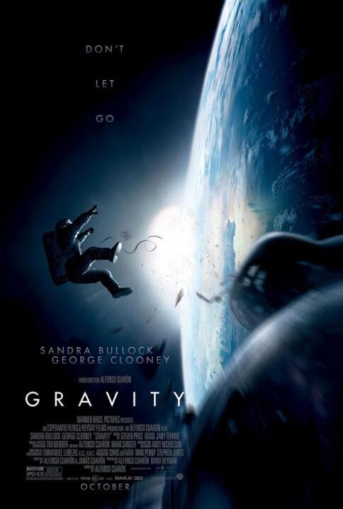 Con sabor mexicano, la edición 90 de los premios Oscar gravity poster 1....