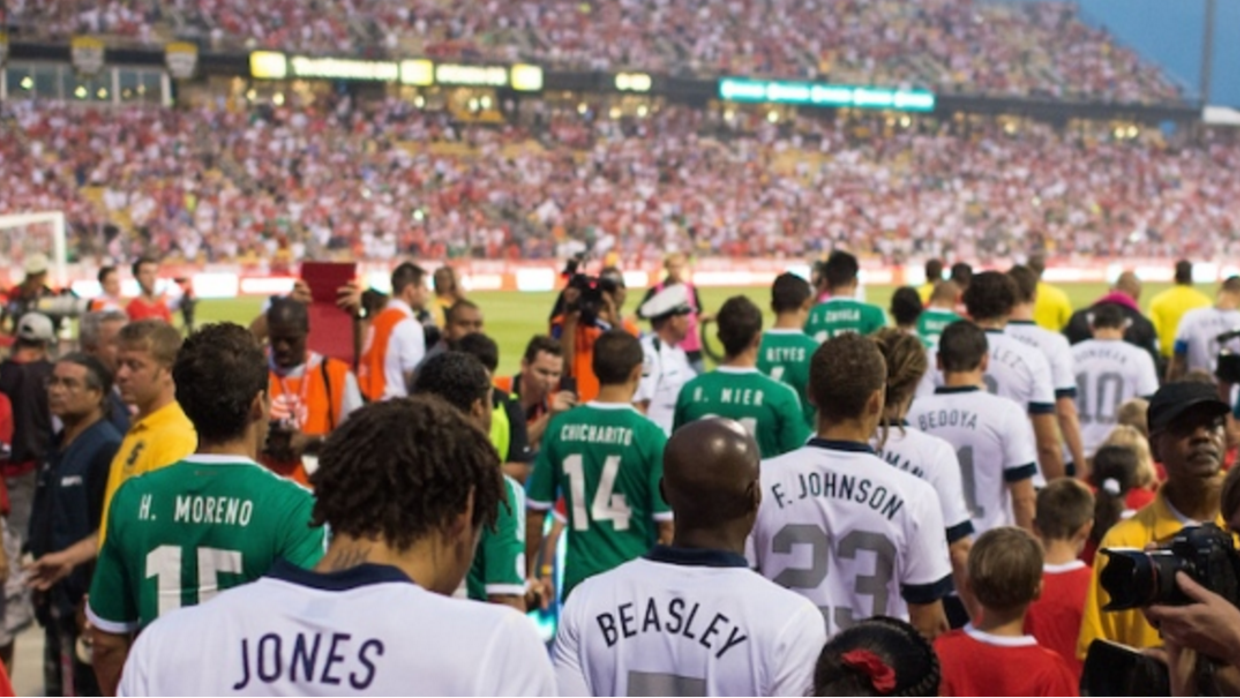 USA vs Mexico, Friday night. The history between the two teams is marked...