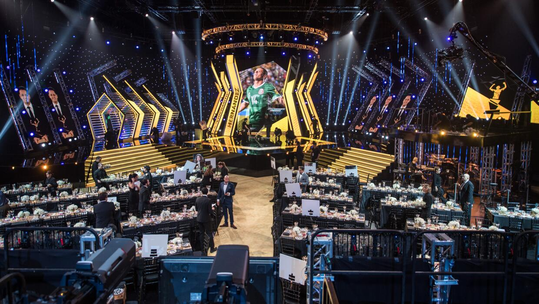 La emotividad fue la característica de la noche en los Premios UD.