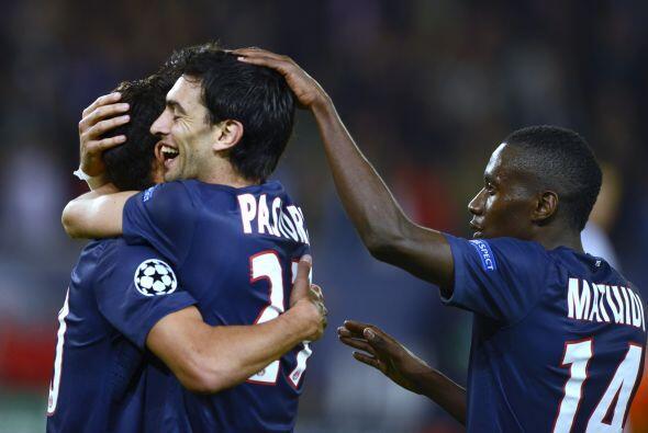 El Dynamo descontó, pero Javier Pastore cerró el triunfo de los francese...