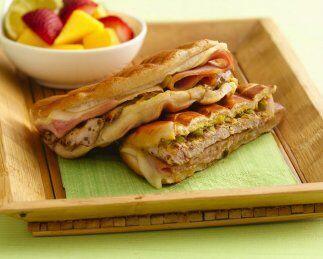 Sándwiches cubanos: ¡Con puerco, jamón y queso, esto...
