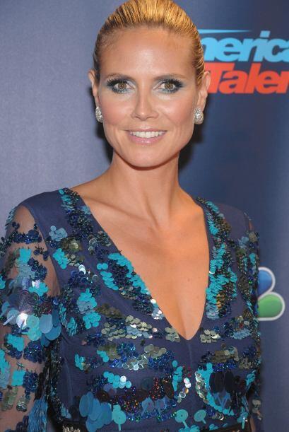Heidi Klum, siempre bella en todos los eventos.  Mira aquí lo &ua...
