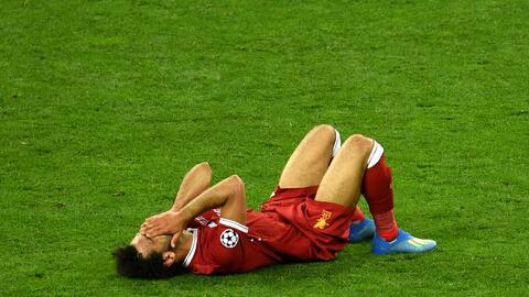 La estrella del Liverpool sufrió una lesión en la clav&iac...