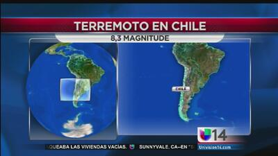 Fuerte terremoto sacudió a Chile