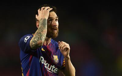 Messi fue visto por su doble en el Camp Nou