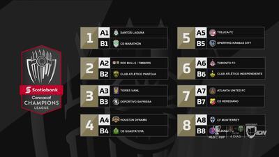 Definidos los Octavos de Final de la Liga de Campeones de Concacaf