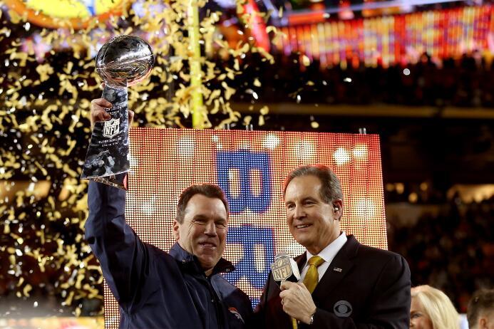 Así celebraron los Denver Broncos su triunfo en el Super Bowl 50 ante lo...