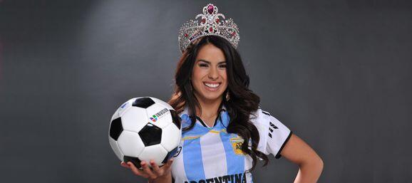 La puertorriqueña fue sincera y confesó que no es fanática del fútbol y...