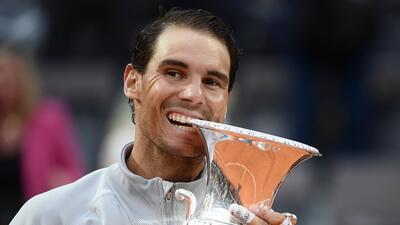Nadal recupera la cima de la ATP previo a Roland Garros