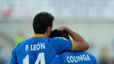 El gol de Colunga le bastó a Getafe para ganar a Málaga.