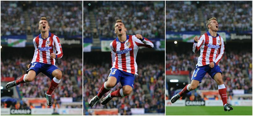 En el reencuentro Griezmann-Vela, el Atlético venció 1-0 a la Real griez...
