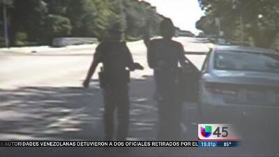 Publican video de patrulla que detuvo a Bland