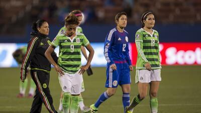 México cayó ante Costa Rica