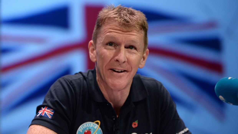 Foto del 6 de noviembre de 2015 del astronauta británico Tim Peake.