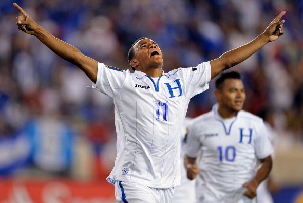 La emoción en el rostro del delantero de la Real Sociedad de Honduras er...