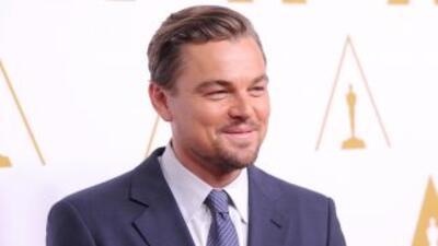 El actorLeonardo DiCaprio.
