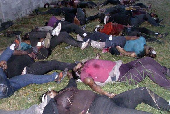 El pasado 25 de agosto, 72 cadáveres (58 hombres y 14 mujeres) fueron en...
