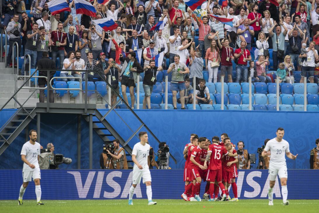 ¡Color, fútbol y alegría! La fiesta de la Confederaciones invadió Rusia...