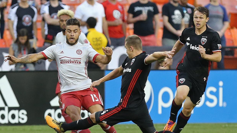 Hector Villalba, Russell Canouse  Atlanta United vs. DC United