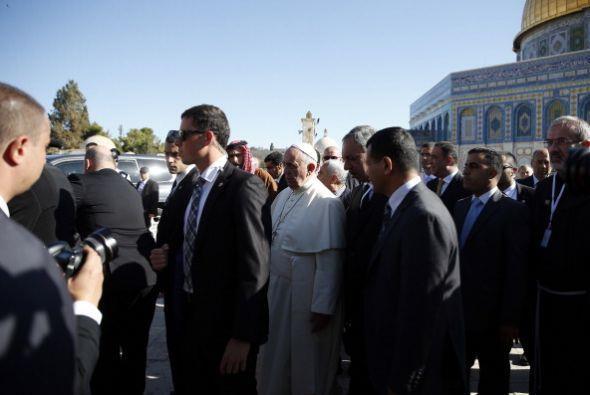 El pontífice ofreció un discurso en esta histórica Explanada donde llamó...