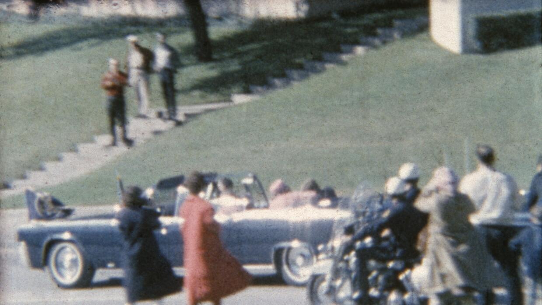 Imagen del asesinato de JF Kennedy.