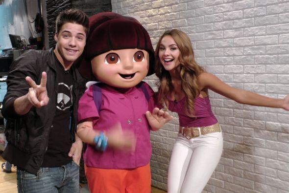 A principios de mayo, Dora La Exploradora lo visitó en su Rincón Social.
