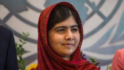 La joven activista, que entonces tenía 15 años, recibió un disparo en la...