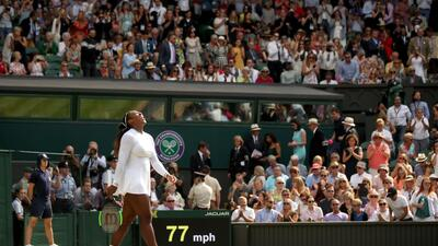 En fotos: quedó lista la Final de mujeres en Wimbledon, será Serena vs Kerber