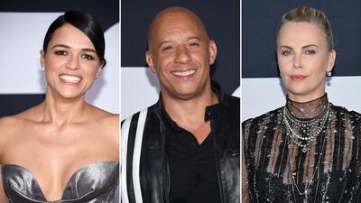 Estreno de 'Fate of the Furious' en Nueva York