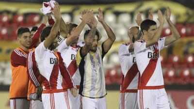 Conmebol ordenó a todos los jugadores de River Plate someterse a control antidopaje