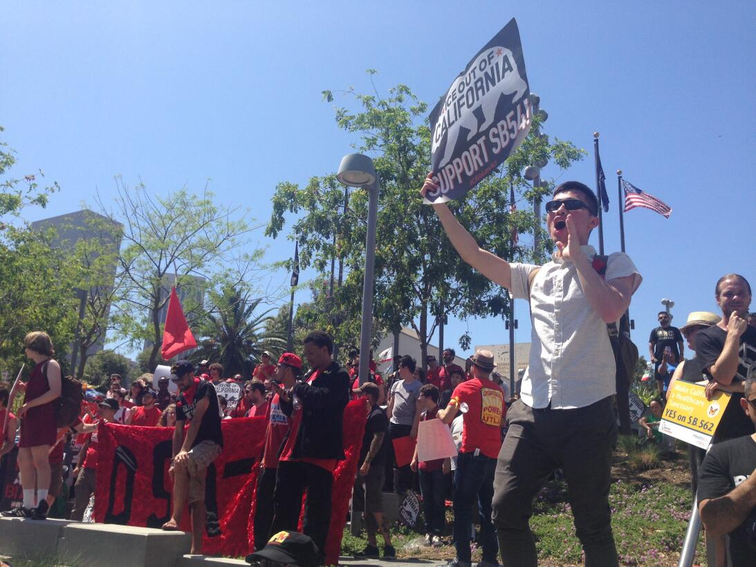 Marcha May Day 2017