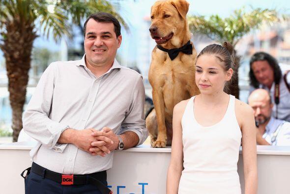 Teresa fue quién se encargó de entrenar a los dos perros (Body y Luke) q...