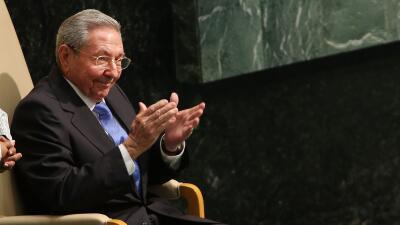 Castro habla por primera vez ante la ONU