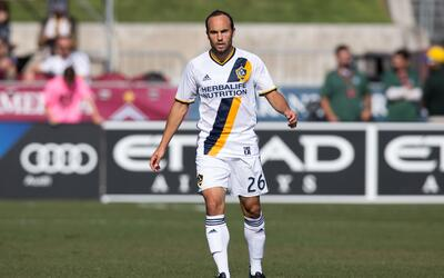 Landon Donovan, quien jugó hasta el año pasado con LA Gala...