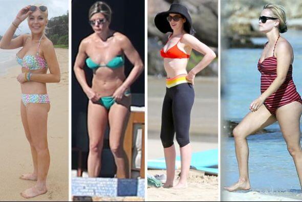 ¡Estas famosas nos harían un favor al no usar bikini pues nos hacen llor...
