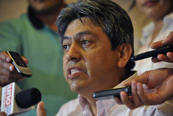 Mario Cossío, ex gobernador de Tarja, Bolivia  En Paraguay se encuentra...