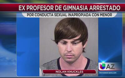 Ex profesor de gimnasia se declara culpable de conducta sexual