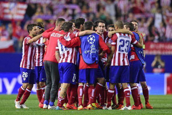 Atlético logró dejar fuera al Barcelona y es uno de los cuatro invitados...