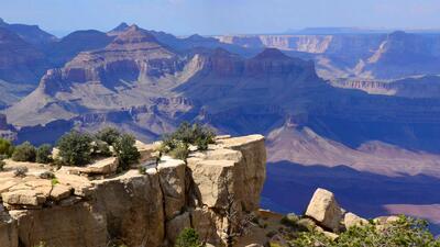 Grand Canyon National Park (South Rim) en Arizona