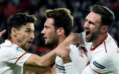 Sevilla logró su pase a la final de la Copa del Rey