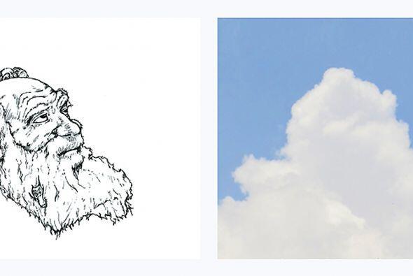 En cuanto ve una nube e imagina lo que puede ser, Martin le toma fotogra...