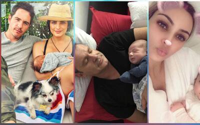 Bebés de los famosos que nacieron en 2018