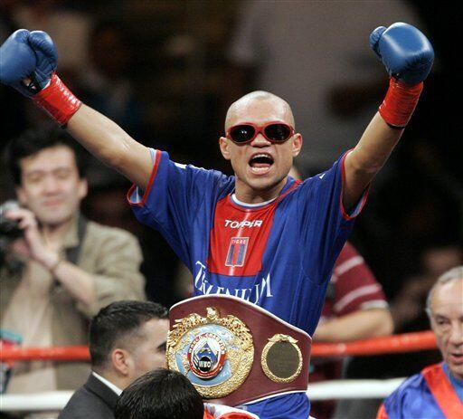 El boxeador argentino Jorge Rodrigo 'Hiena' Barrios, fue procesa...