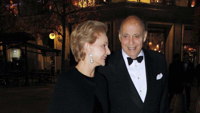 Carolina y su esposo Reinaldo Herrera