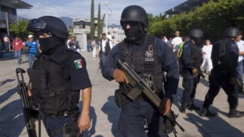 Sibelesexplicó que cuando los agentes policiales patrullaban la zona no...