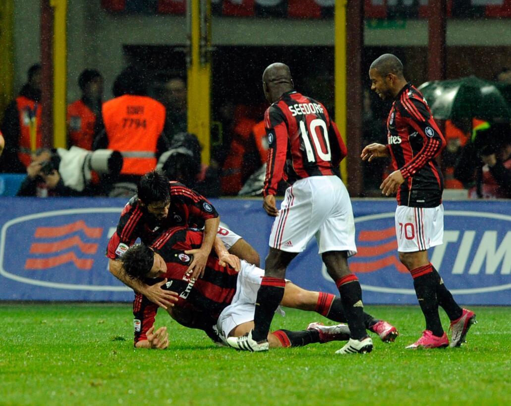 Lesiones insólitas de futbolistas al celebrar un gol gettyimages-1070372...